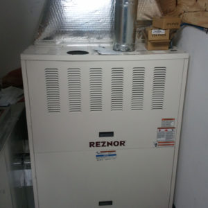 Reznor Indoor Upflow Furnace